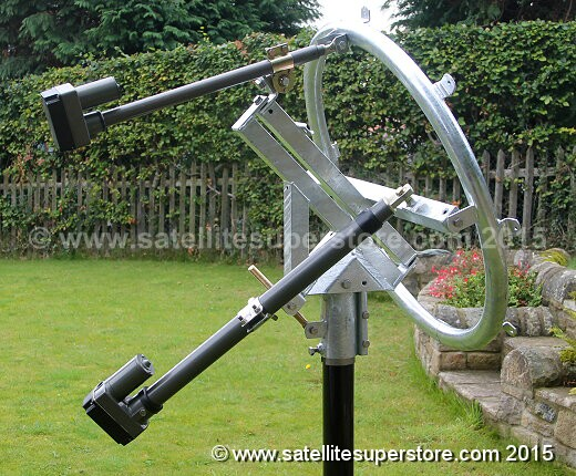 Primesat 1.8m Inclined Orbit Polar Mount