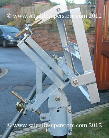 Primesat polar mount for Raven 1.2m dish