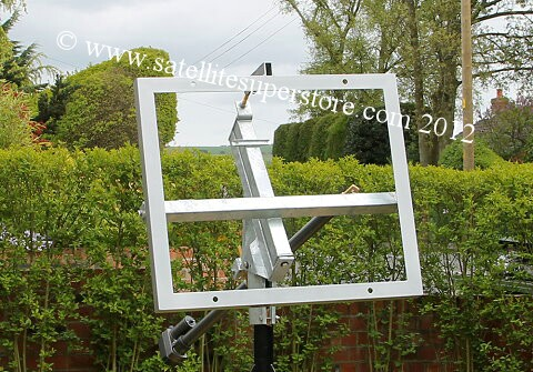 Primesat Polar Mount for Raven 2.4m dish