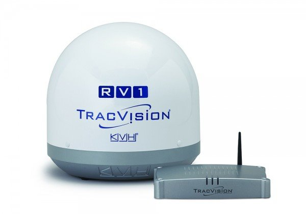 TracVision RV1 tracking dome.