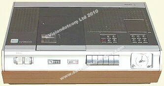 Philips N1500. The first ever domestic colour cassette recorder.