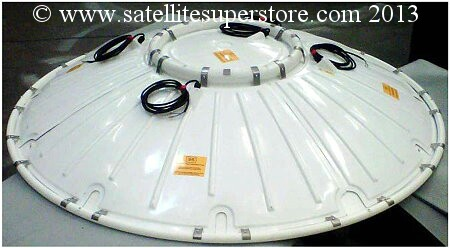 Heated Primesat 3m dish