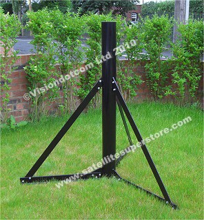 Heavy Duty ground stand - this one - 20 bolt fixing