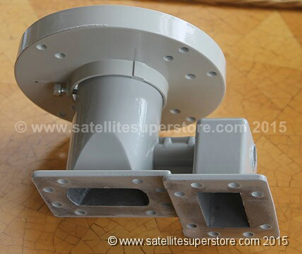 Primesat Dual Polarity C Band LNB and feedhorn kit.