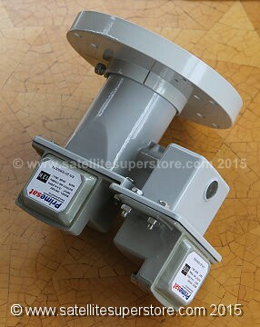Dual polarity feedhorn block type C Band LNB option