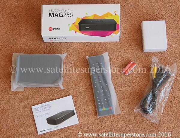 MAG 256 IPTV box  Mag 254  Mag 250  Linux IPTV  Zaap TV HD509N