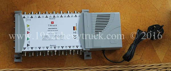 5 input 32 output powered multiswitch
