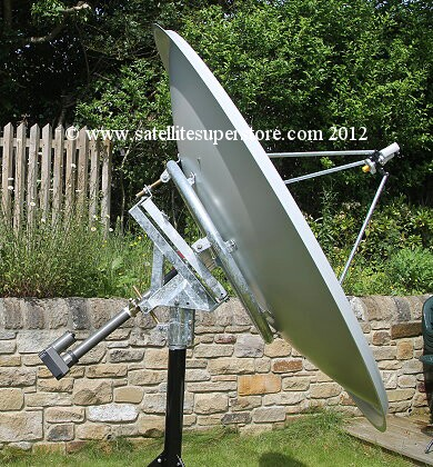 Primesat 1.8m motorised dishes