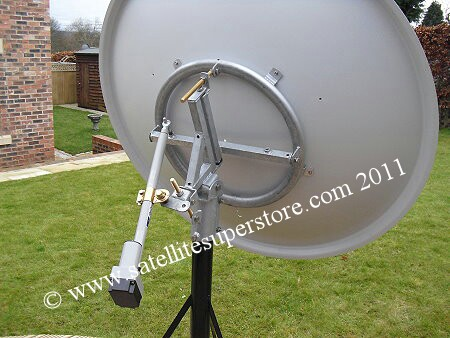 Primesat 1.4m motorised Dish