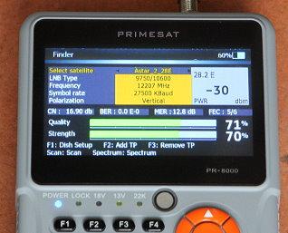 SATELLITE METERS UK  Satellite finder meters  DVB-S2 meter
