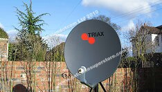 Triax heavy duty dishes