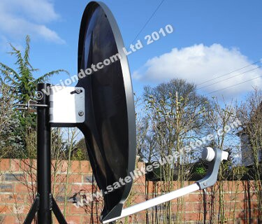 Triax heavy duty fibre glass dish