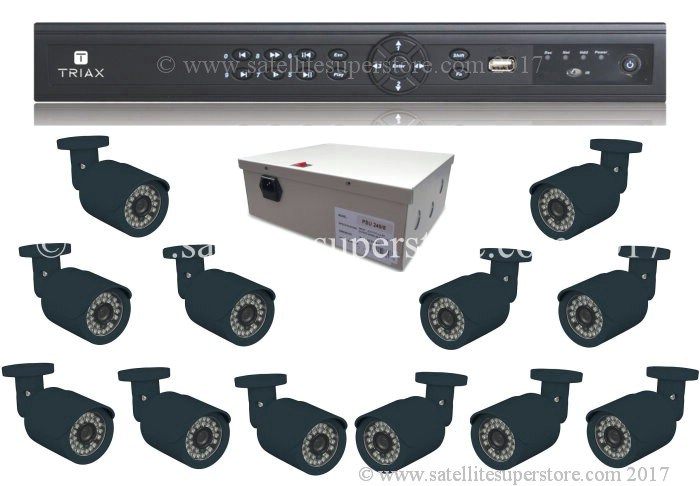 Triax 12 camera input DVR.
