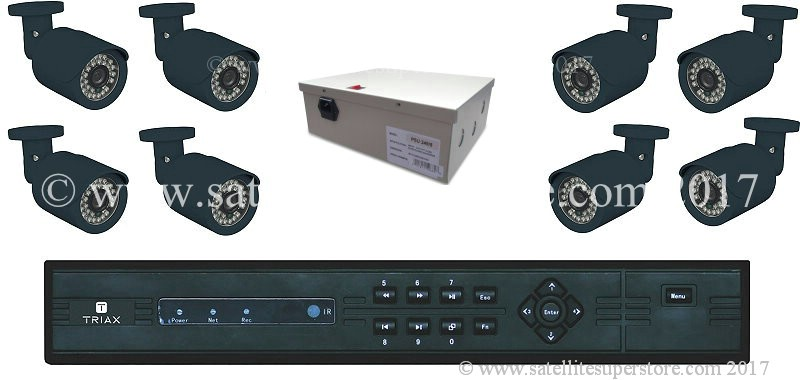 Triax 8 camera input DVR.
